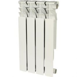 Rommer Plus 500 4 секций радиатор алюминиевый (Ral9016)