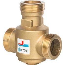 Stout Термостатический смесительный клапан G 1)4 1/4 Нр 70°С