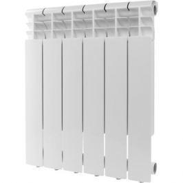 Rommer Profi 500 (Al500-80-80-100) 6 секции радиатор алюминиевый (Ral9016)