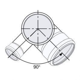 Sinikon Комфорт Крестовина двухплоскостная D110х110х50х87 левая