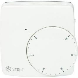 Stout Термостат комнатный электронный Wfht-Dual включ. дистанционный датчик «в пол» L=3 м