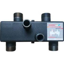 Гидравлический разделитель Warme Wgr80 с торцевыми отводами и резьбой