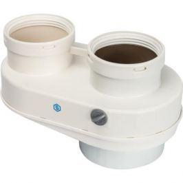 Stout Элемент дымохода Dn80/80 адаптер для подкл. разд. труб (совместимый Baxi ) Pp-Ryton
