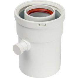Stout Элемент дымохода конденсатосборник вертик. Dn60/100, п/м уплотнения в компл. с лого