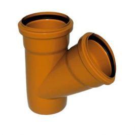 Sinikon Нпвх Тройник D160 x 110 x 87° для нар. канализации