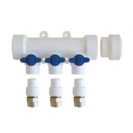 Kalde Коллектор с запорными кранами для полипропиленовых труб (6 выходов)