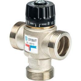 Stout Термостатический смесительный клапан для систем отопления и Гвс 1 1/4