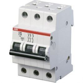 Abb Выключатель авт. мод. 3п C 25А S203 6кА Abb 2CDS253001R0254
