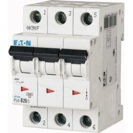 Eaton Выключатель авт. мод. 3п C 6А Pl4-C6/3 4.5кА Eaton 293158