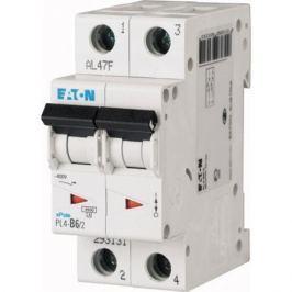 Выключатель авт. мод. 2п C 25А Pl4-C25/2 4.5кА Eaton 293144