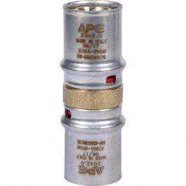 Stout Муфта соединительная равнопроходная 20х20 для металлопластиковых труб прессовой
