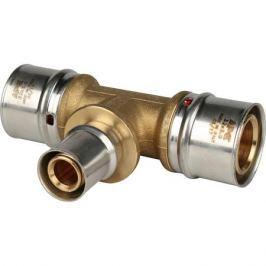 Stout Тройник переходной 32х20х32 для металлопластиковых труб прессовой
