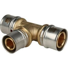 Stout Тройник переходной 32х26х32 для металлопластиковых труб прессовой