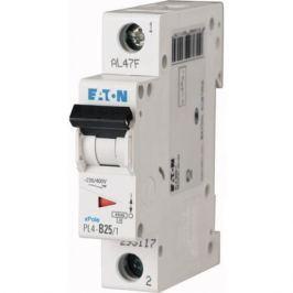 Eaton Выключатель авт. мод. 1п C 25А Pl4-C25/1 4.5кА Eaton 293126