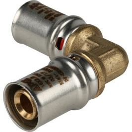 Stout Угольник 90° 16х16 для металлопластиковых труб прессовой