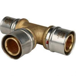 Stout Тройник переходной 32x32x26 для металлопластиковых труб прессовой