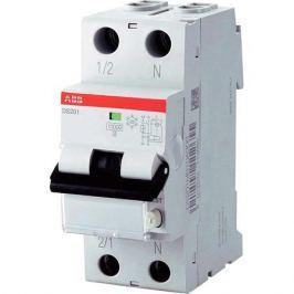 Abb Выключатель авт. диф. тока 1п+N 2мод. C 10А 30мА тип Ac 6кА Ds201 C10 Ac30 Abb 2CSR255040R1104