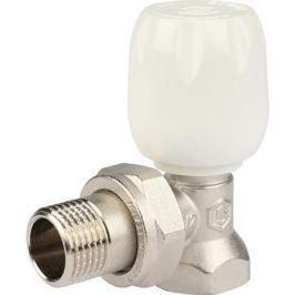 Stout Клапан ручной терморегулирующий с неподъемным шпинделем, угловой 1/2