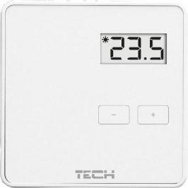 Tech St-294 v1 Проводной комнатный двухпозиционный терморегулятор, белый