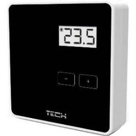 Tech R-8b Беспроводной двухпозиционный комнатный терморегулятор (черный)