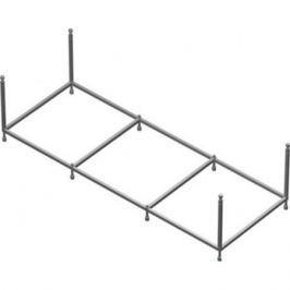 Zru9302875 монтажный набор для ванны Uno, каркас, крепл. к стене/фронт.п., слив-перелив /160x75/
