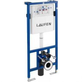 Инсталлиционная система с бачком для подвесного унитаза, система двойного смывания 6/3 л, регулируемая до 4,5/3 л