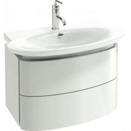 Presqu'Ile Eb1103-G1C (новый Eb1103-Hu) Мебель 66 см для раковины Е4437-00 (66х41х45,2), два выдвижных ящика, белый