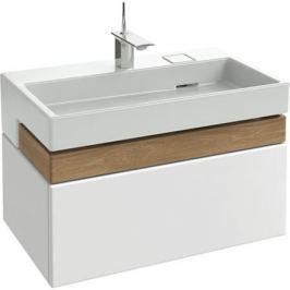 Terrace Eb1186-G1C (старый Eb1186-Hu) Мебель под раковину 80 см (Ш 80 x Г 48 x В 38 cм)белый.