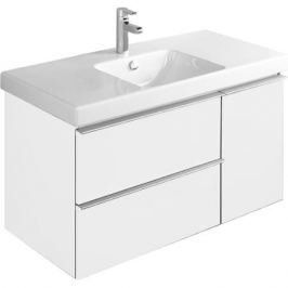 Odeon Up Eb891-N18 мебель для раковины Е4731, белый ламинат