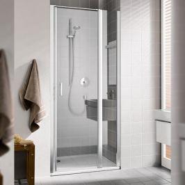 Cada Xs Ck 1GR 09020 Vpk 1-створ. маятниковая дверь 860-910/2000 с фикс.панелью, крепление справа, стекло прозр. Esg Clean