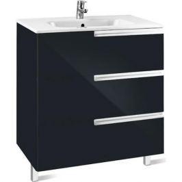 Victoria Nord Black Edition шкаф под раковину 3-и ящика 60 см