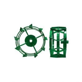 Грунтозацепы МК Кайман,ГКВ.34.410.180 сквозная втулка, 3 обода, Зеленый