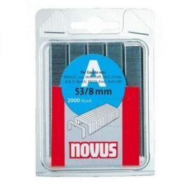 Скобы NOVUS 53 8 (2000шт) 0420413