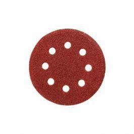 Круг шлифовальный STAYER 35452125080 125 мм Р80 8 отверстий