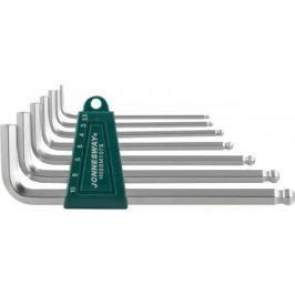 Комплект шестигранников JONNESWAY H05SM107S с шаром 2,510мм