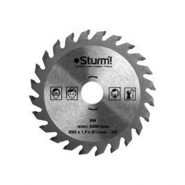 Диск пильный STURM CS5060MS85151.924T с тверд напайками