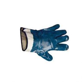 Перчатки нитриловые с твердым манжетом