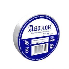 Изолента АВАЛОН 15мм*20м белая