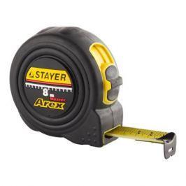 Рулетка STAYER 8м 25мм 341008