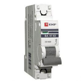 Автоматический выключатель EKF BA 4763 25А 1П
