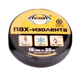 Излоента AVIORA 15мм*20м черная