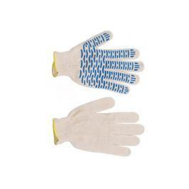 Перчатки трикотажные с ПВХ в 4 нити ВОЛНА
