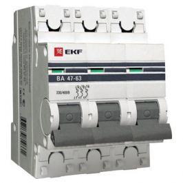Выключатель EKF автомат.ВА 4763 10А 3П