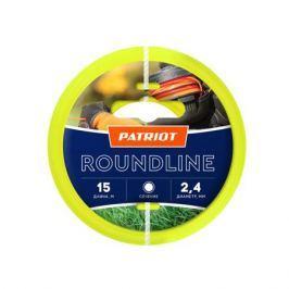 Леска PATRIOT Roundline 2,4мм*15м (круглая,желтая) 805201017