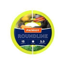 Леска PATRIOT Roundline 3,0мм*15м (круглая,желтая) 805201019