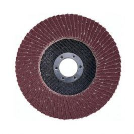 Круг лепестковый торцевой Атака 150 P50 (коричневый)