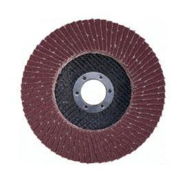 Круг лепестковый торцевой Атака 150 P80 (коричневый)