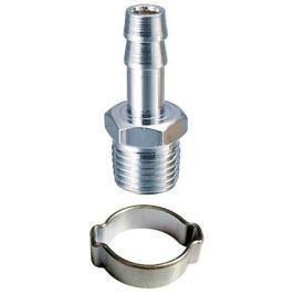 Переходник 1 4 M на елочку 10мм с обжимным кольцом FUBAG 10*15мм (блистер) 180265