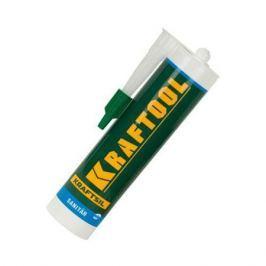 Герметик KRAFTOOL 412552 силиконовый прозрачный,санитарный,300мл.