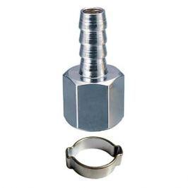 Переходник 1 4 F на елочку 10мм с обжимным кольцом FUBAG 10*15мм (блистер) 180252